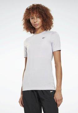 Reebok - WORKOUT READY TRAINING SHORT SLEEVE - T-Shirt basic - white