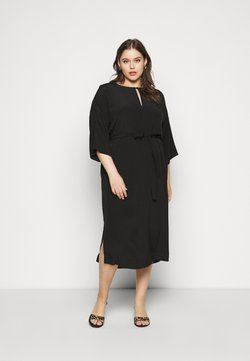 Selected Femme Curve - SLFYANKA TONIA DRESS - Korte jurk - black