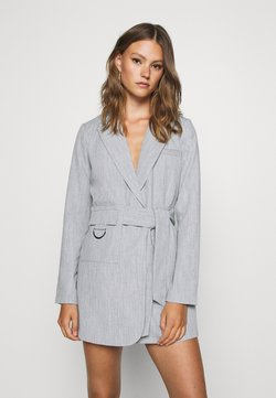 4th & Reckless - RUBY BLAZER DRESS - Blusenkleid - grey