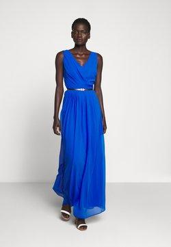 Lauren Ralph Lauren - GRACEFUL LONG GOWN - Ballkleid - portuguese blue