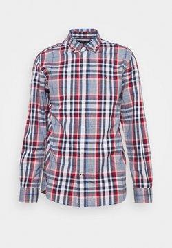 Tommy Hilfiger - MIDSCALE CHECK - Camisa - arizona red/yale navy