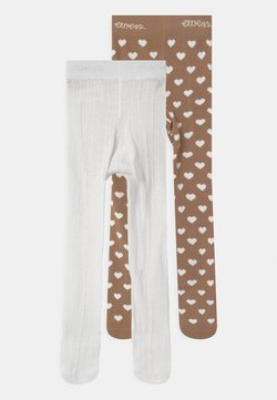 Ewers - HEARTS 2 PACK - Panty - light brown/white
