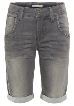 Name it - Jeansshort - medium grey denim