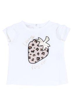 Liu Jo Kids - WITH STRAWBERRY - T-shirt print - white