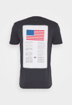 Alpha Industries - T-shirts print - iron grey