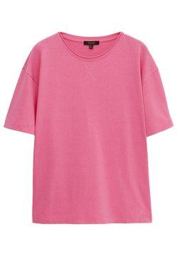Massimo Dutti - T-Shirt basic - neon pink