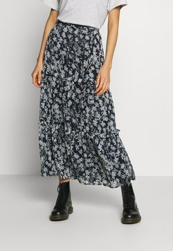 Superdry - MARGAUX SKIRT - Maxirock - navy
