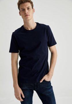 DeFacto - T-shirt basique - navy