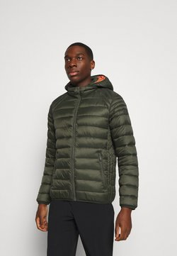 CMP - MAN JACKET ZIP HOOD - Winterjas - oil green