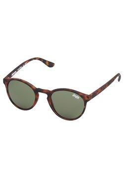 Superdry - Occhiali da sole - rubberised tort vintage green