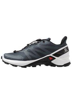 Salomon - SUPERCROSS - Zapatillas de trail running - india ink/white/black