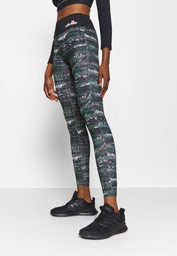 Ellesse - JYN - Tights - black/green