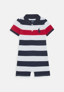 Polo Ralph Lauren - ONE PIECE SHORTALL - Grenouillère - newport navy