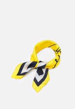 Tommy Hilfiger - SIGNATURE FOULARD - Tørklæde / Halstørklæder - yellow