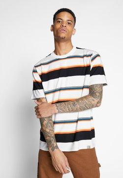Carhartt WIP - SUNDER  - T-Shirt print - sunder stripe, wax / wax