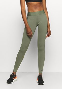 adidas Performance - ASK  - Tights - olive