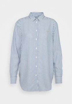 Maison Labiche - BOYFRIEND OVERDRESSED - Bluse - white/blue