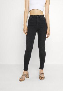Pieces - PCHIGHFIVE FLEX - Jeans Skinny - dark grey denim