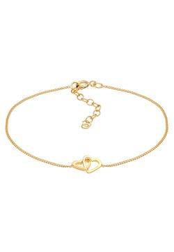 Elli - HERZ - Armband - gold
