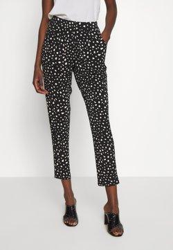 Wallis - MONO TROUSER - Trousers - black/white