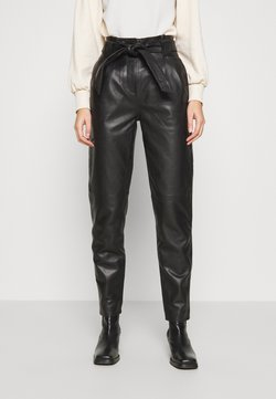 JUST FEMALE - NAGO TROUSERS - Trousers - black