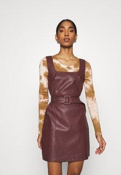 Fashion Union - TAYLA DRESS - Vestido de tubo - brow