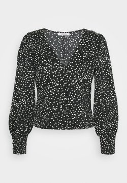 Glamorous - V NECK WITH BUTTON DETAIL - Longsleeve - not defined