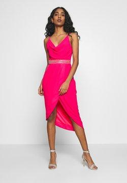 TFNC - LEXIE DRESS - Cocktail dress / Party dress - fuschia