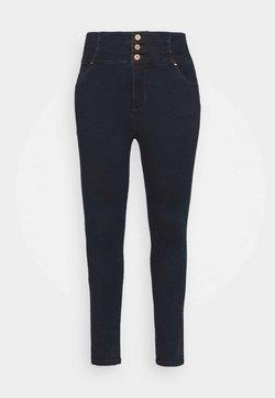 Simply Be - SHAPE SCULPT SUPER HIGH WAIST  - Jeansy Skinny Fit - dark indigo