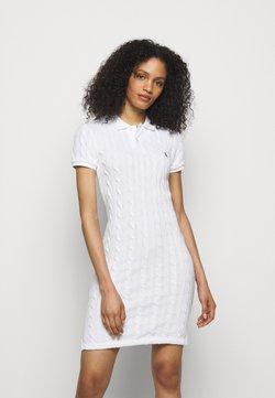 Polo Ralph Lauren - Gebreide jurk - white
