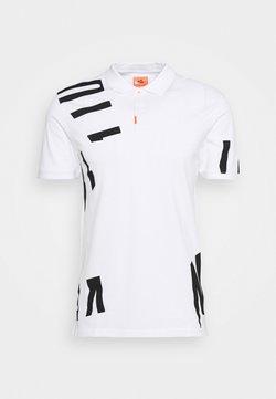 Nike Golf - THE GOLF HACKED SLIM - T-shirt print - white
