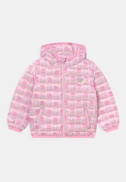 Guess - PADDED HOOD UNISEX - Chaqueta de invierno - pink