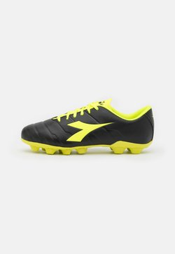 Diadora - PICHICHI 3 MD - Moulded stud football boots - black/fluo yellow