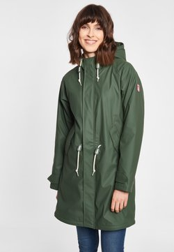 Derbe - TRAVEL COZY FRIESE RC - Parka - oliv