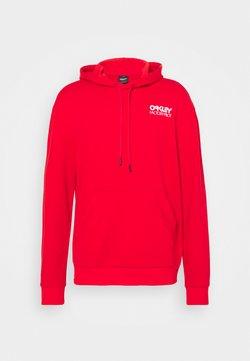 Oakley - FREERIDE HOODIE - Sweatshirt - red line