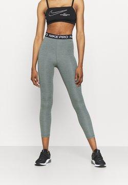 Nike Performance - 365 7/8 HI RISE - Tights - smoke grey heather/black