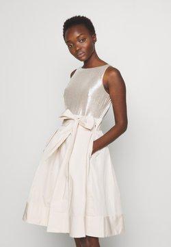 Lauren Ralph Lauren - MEMORY TAFFETA DRESS COMBO - Cocktail dress / Party dress - cashew/champagne