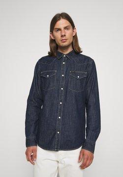 Lee - REGULAR WESTERN - Camisa - dark blue denim