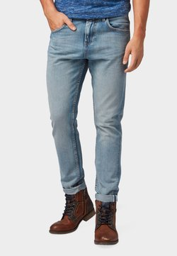 TOM TAILOR DENIM - CONROY TAPERED  - Jeans Tapered Fit - light stone blue denim