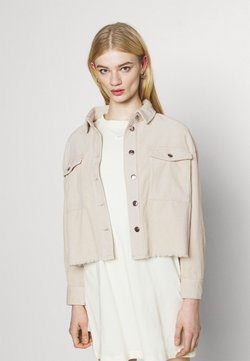 ONLY - ONLMARINA BITTEN LIFE - Summer jacket - pumice stone