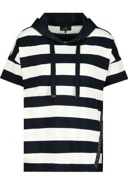 Monari - MIT KAPUZE - T-Shirt print - night blue