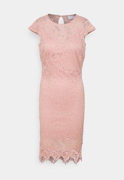 VILA PETITE - VIEDELLE CAPSLEEVE DRESS PETITE - Fodralklänning - misty rose