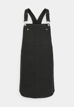 New Look - PADDY PINNY - Jeanskleid - black