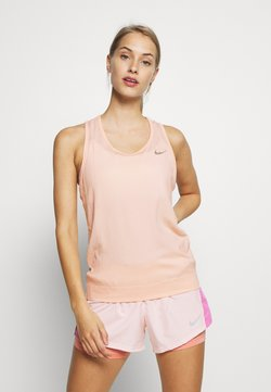 Nike Performance - W NK INFINITE TANK - Camiseta de deporte - washed coral