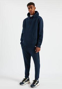 PULL&BEAR - SET - Kapuzenpullover - mottled dark blue