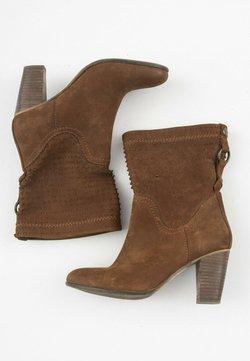 SPM Shoes & Boots - Botki kowbojki i motocyklowe - brown