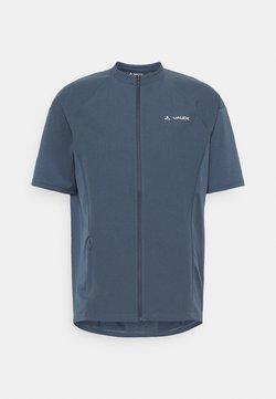Vaude - MENS QIMSA WIND - T-Shirt print - steelblue