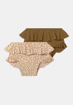 Konges Sløjd - 2 PACK  - Bikini pezzo sotto - buttercup yellow/breen