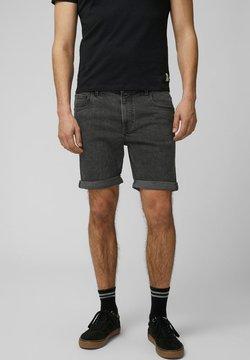 Produkt - KLASSISCHE - Jeansshort - dark grey denim
