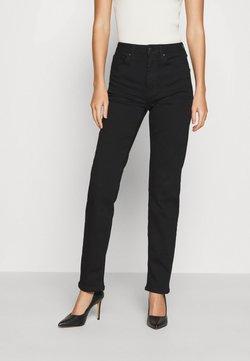 Anna Field - STRAIGHT LEG - Straight leg jeans - black denim